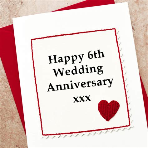 6th Wedding Anniversary Ideas Uk by Sixth Wedding Anniversary Gift Gift Ftempo