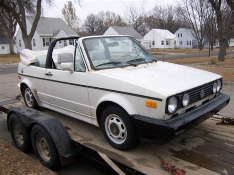 volkswagen rabbit 1990 find parting out 1980 vw caddy rabbit truck