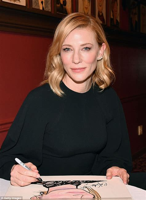 Cate Blanchett Has Seen Better Days by Cate Blanchett Shows New Bobbed Haircut In Nyc