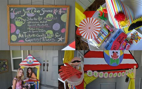 backyard carnival party ideas carnival party birthday party ideas photo 1 of 51