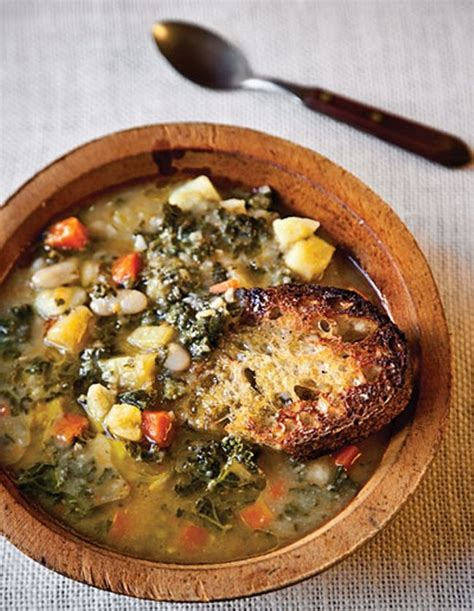 tuscan bean soup 1 from saveur 2 webpage has a convenient pin it button meal ideas