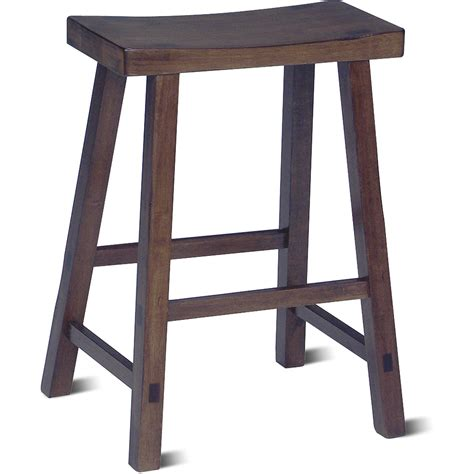 bar stools 24 inch visionexchange co saddle seat stool 24 multiple finishes walmart com