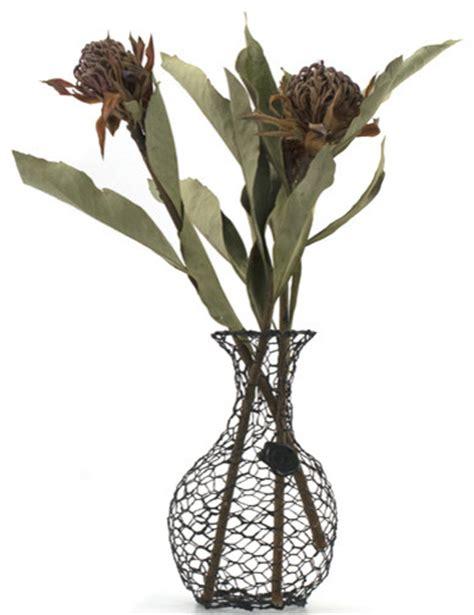 dried flower vase modern vases los angeles by