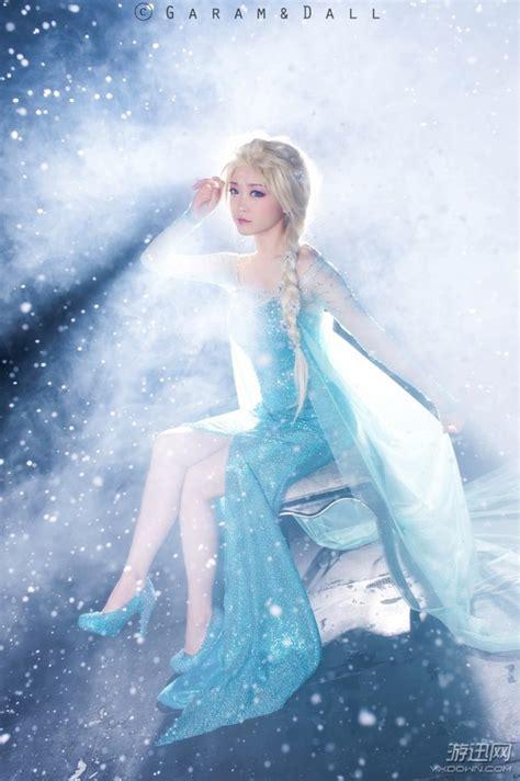 Cosplay công chúa Elsa ??p h?n c? trong phim Frozen   Tin