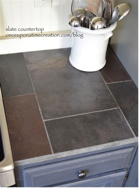 slate tile  kitchen countertops video   madlonsbigbearcom