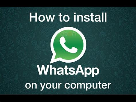 install whatsapp on laptop how to install free whatsapp funny videos on pc without
