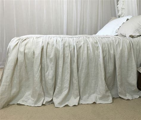 natural linen comforter natural linen bedspread bed cover queen bedspread king