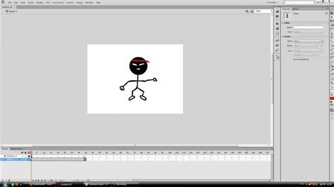 adobe flash cs6 tutorial basic animation bone tool