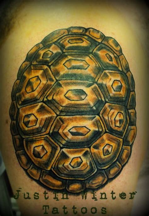 crossing the equator tattoo traditional tortoise shell by justin winter tacoma