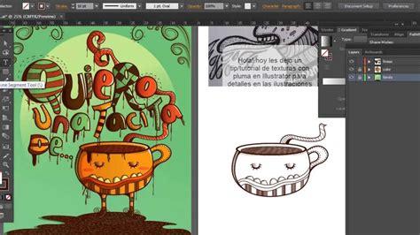 como hacer un pattern brush en illustrator tutorial tip de texturas con trazo en illustrator youtube