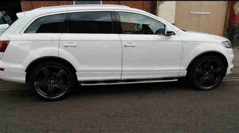 Audi 7 Seater For Sale by Audi Q7 2012 Sline Quattro 4x4 White 3 Litre Diesel 7