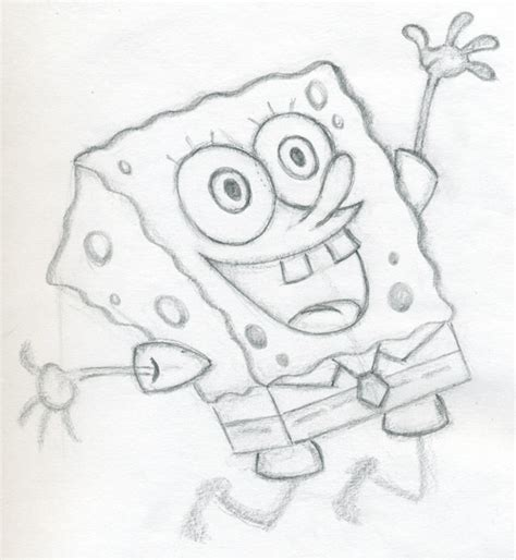 Sketches Easy To Draw by Let S Draw Spongebob