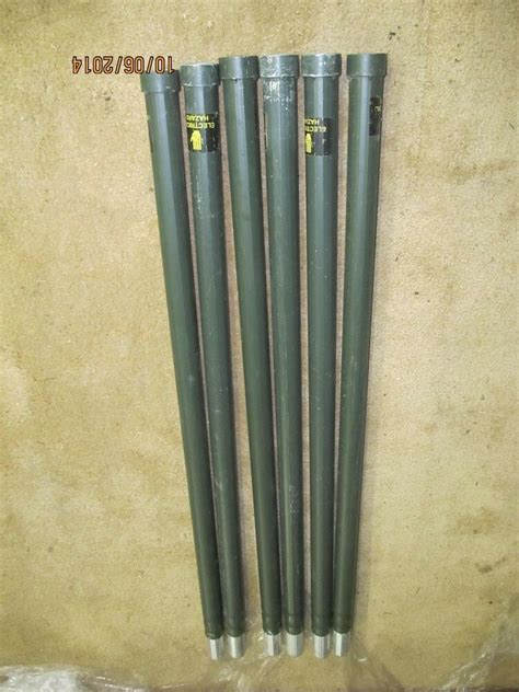 4 foot aluminum antenna tower mast sections pole 6 poles ebay