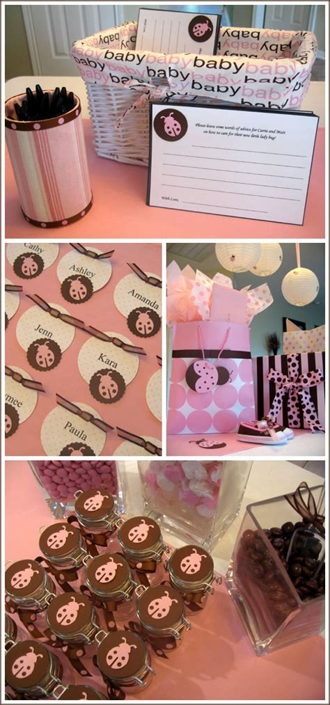 Pink And Brown Decorations by Pink And Brown Baby Shower Favors Ideas