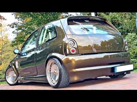 opel corsa 2002 tuning opel corsa b tuning modified youtube