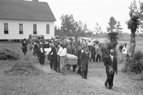 the disappearance of a distinctively black way to mourn