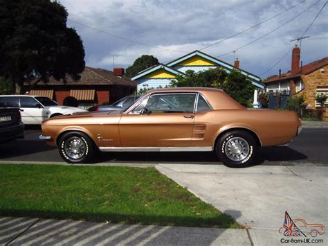 1967 Ford Mustang Fastback Burnt Umber For Sale Craigslist Used Cars For Sale Ford Mustang 1967 289 Auto Burnt Not Xy Gt Camaro Torana Monaro In Melbourne Vic