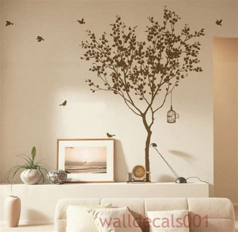 Vinyl Tree Decals Wall Decals Wall Stickers Wall Art Wall Tree Wall Decals For Nursery Etsy