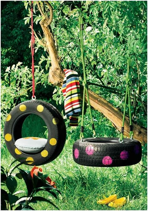 tire swings for kids 25 creative ideas to reuse old tires architecture design