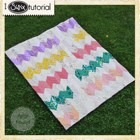 Sizzix Quilting Dies by Sizzix Die Cutting Inspiration And Tips Trending Chevron