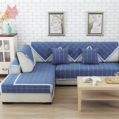 blue buffalo check sofa 20 choices of blue plaid sofas sofa ideas