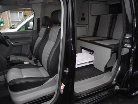 vw swb caddy interior autocamp camper conversion