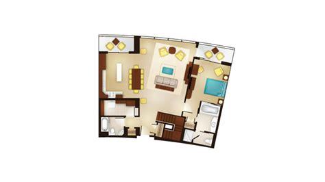bay lake tower deluxe studio floor plan bay lake tower at disney s contemporary resort guide