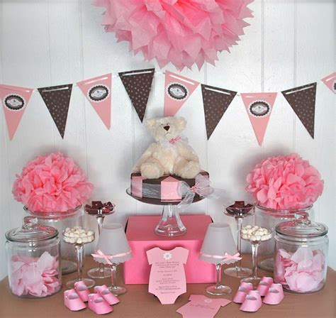 decorating for baby shower party favors ideas