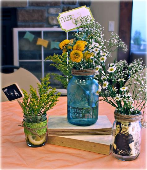 centerpiece ideas using jars jar herb centerpieces arts crafts ideas movement
