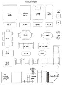 Furniture Template by Paul Baldwin 187 Value Added Furniture Templates For Your