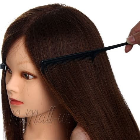 mannequin head to practice braiding in st louis 2016 90 26 quot real human hair training cutting braiding