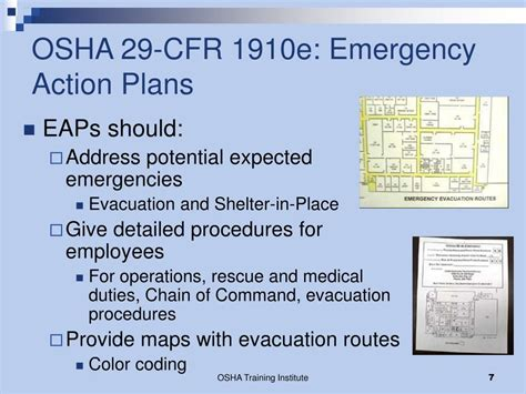 osha emergency lighting requirements ppt osha regulations issues for evacuation of