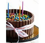 Chic Chocolat G&226teau Danniversaire Kit Kat Et Smarties