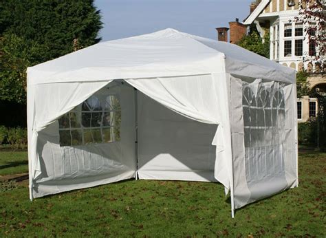 miraculous pop up gazebo with sides waterproof gazeboss