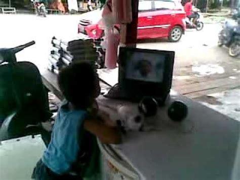 bayi ngomong kiamat asli fatir anak kalibobo nabire papua terkejut melihat