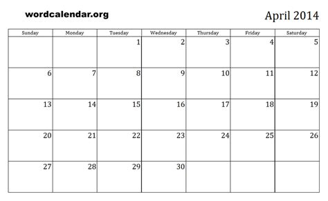 printable calendar 2014 template 5 best images of 12 month calendar 2014 printable