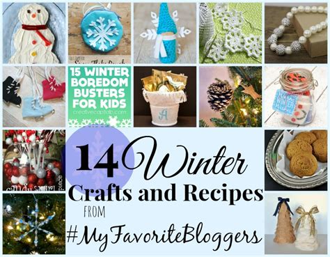 winter food crafts for zippered snowflake pouch myfavoritebloggers do small