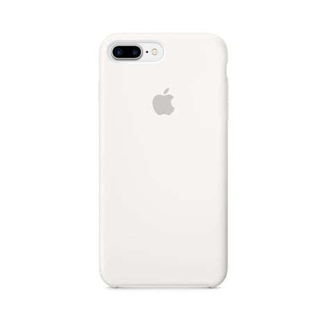 apple iphone 7 plus silicon mmqt2 white itshop ae