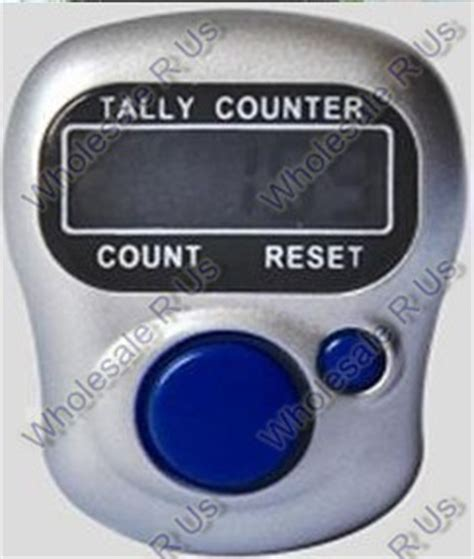 counting device with other exercise fitness digital ring finger tally