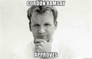 Chef Ramsey Meme - thursday positivity gif party the bump