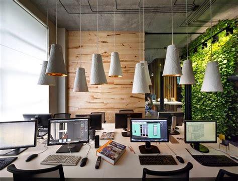layout perkantoran modern oficina y showroom de taller de arquitectura sergey makhno