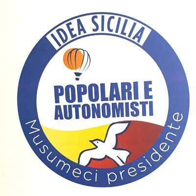 popolare a palermo popolari e autonomisti idea sicilia la lista provinciale