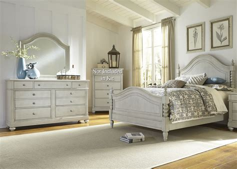 king poster bedroom set harbor view iii king poster bed from liberty 731 br kps