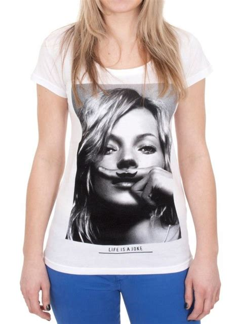 Pop Nosh Kate Moss Is A Freakin Idiot by 1000 Images About Moustache T Shirt On Tom