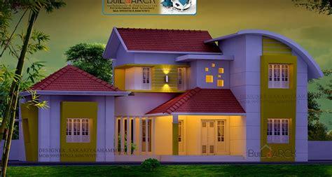 kerala home design facebook 2332 square feet double floor modern budget home design