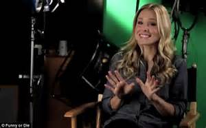 does kristen bell have tattoos kristen bell inks up for or die skit as she jokes