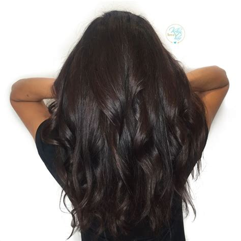 show pictures of rich expresso hair color rich dark chocolate brown hair color by kellyn at bow