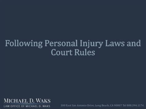 why do i need a lawyer if i m injured in a slip and fall