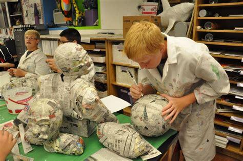 How To Make A Paper Mache Soccer - elgin schools 2013 8th grade paper mache