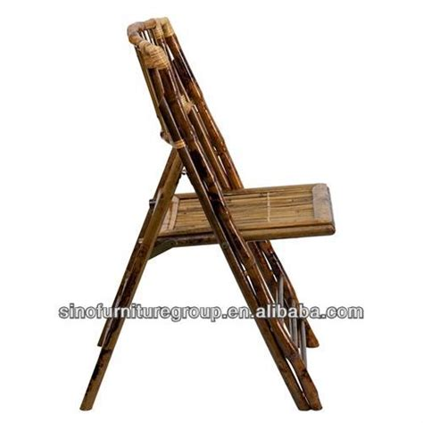chaise de jardin en bambou chaise pliante en bambou